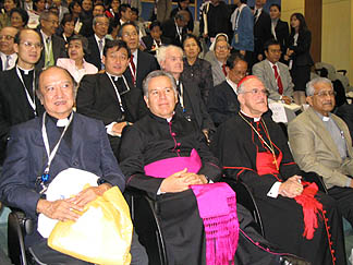 Prelates at the 14th Asian Federation of Catholic Medical Associations congress Nov. 27-30 in Hong Kong