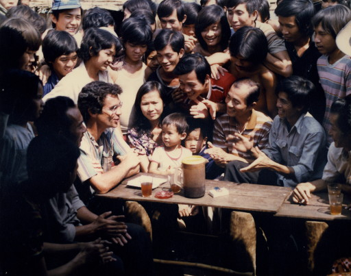 """His 1986 documentary """"Beyond the Killing Fields"""" out refugees on the Thai-Cambodian border won prizes in Asia."""