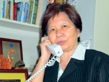 新事社會服務中心主任韋薇修女