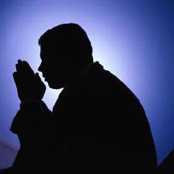 與和尚一塊兒祈禱