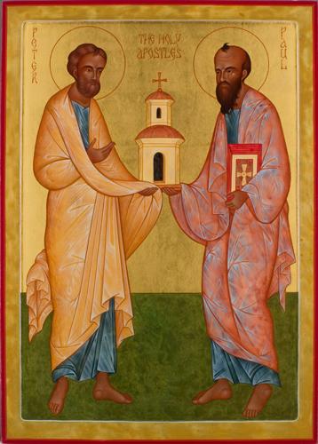 伯鐸與保祿的第一篇講道
