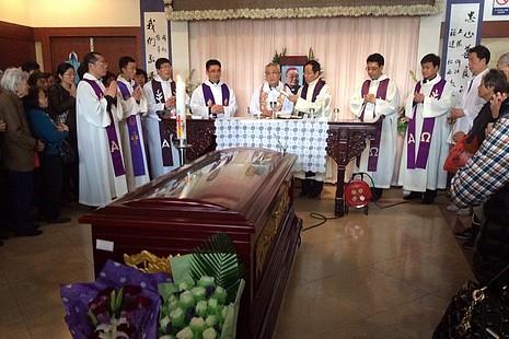華人教會領袖悼念上海教區范忠良主教