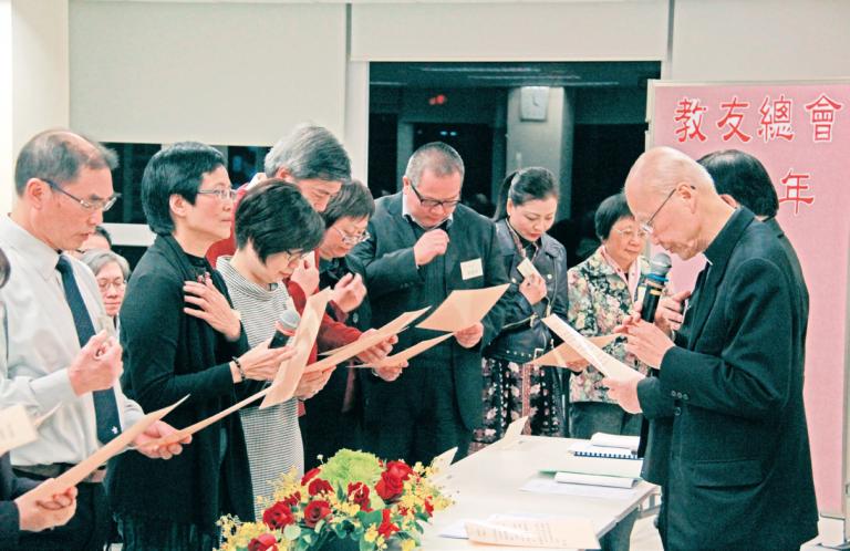 香港教友總會周年大會 – 強調培育 推動福傳