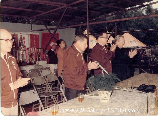 台大社會系創始人之一郝繼隆神父(右一) Father O
