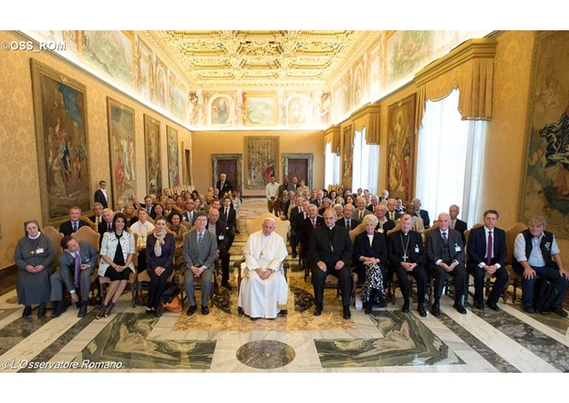 教宗接見聖座科學院與會代表:新形式的奴役是極嚴重罪行