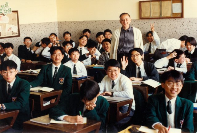 Teaching English to Form Three for four decades