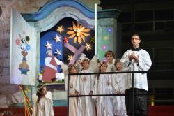 教宗方濟各與耶穌會學校的師生進行輕鬆喜樂的對話