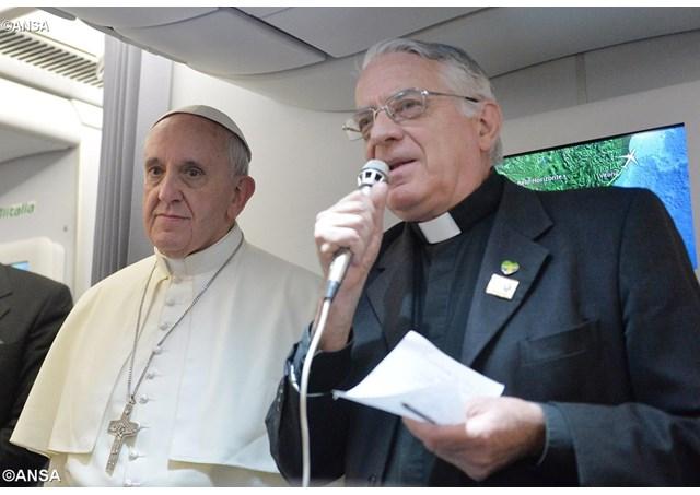 聖座新聞室主任耶穌會士隆巴爾迪神父