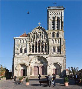 Vézelay Church and Hill