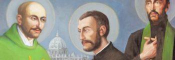 1529年 在巴黎大學認識聖方濟.沙勿略(薩威)及真福法伯爾