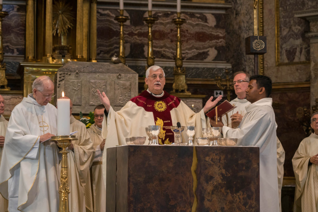 homily of Fr. General