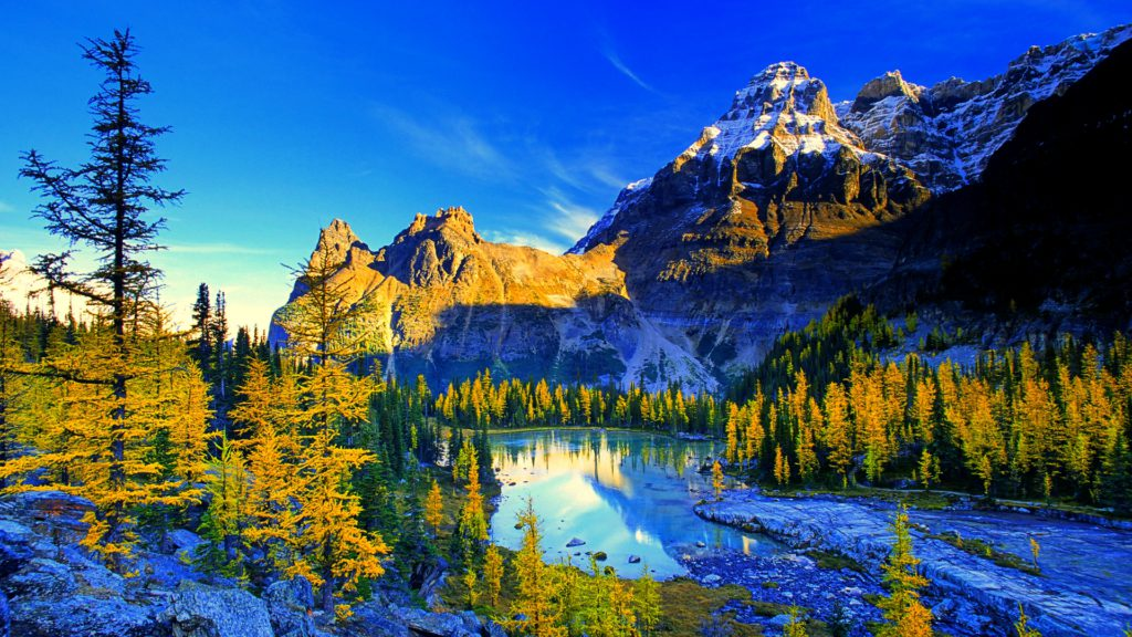 Yoho National Park, Canada --- Yoho National Park and the larch valley, British Columbia, Canada. --- Image by © John E Marriott/All Canada Photos/Corbis