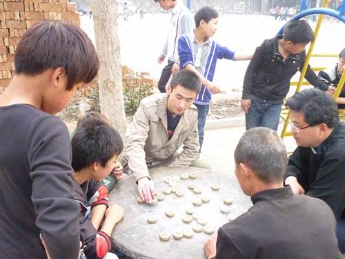 武賞磊,第三屆利瑪竇志願者