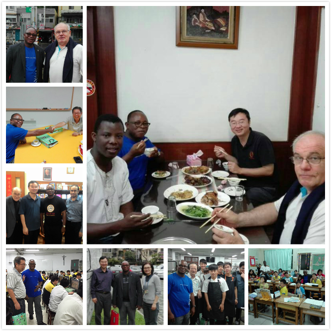 Jesuit West African Governor visits Taiwan
